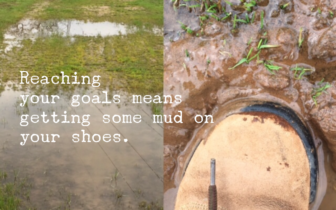 Are You Afraid to get Your Shoes Muddy?