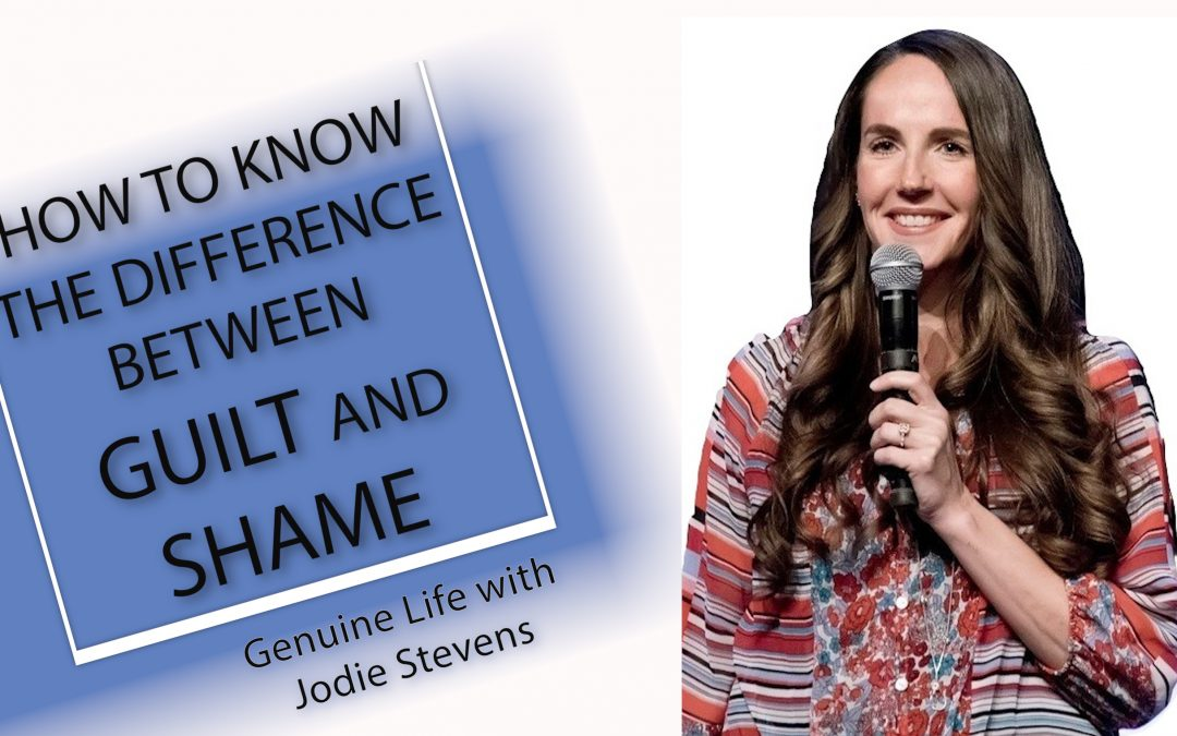 How to Know the Difference Between Guilt and Shame Vlog