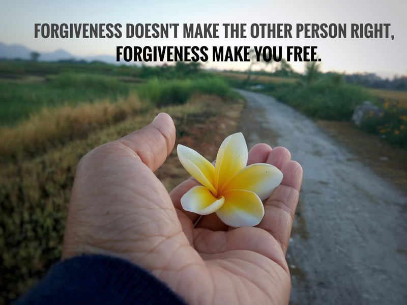 What Does Forgiveness have to do with Recovery Anyway?